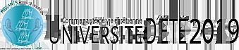 Université d'été 2019 – CVX –