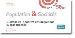 L'Europe et le spectre des migrations subsahariennes